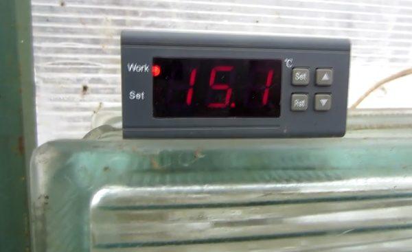 С терморегулятором все в норме