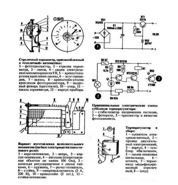 Терморегулятор для теплицы