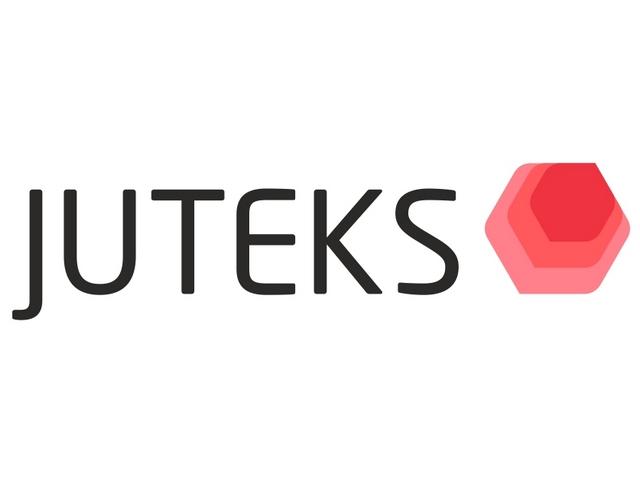 Логотип известной компании «Juteks»