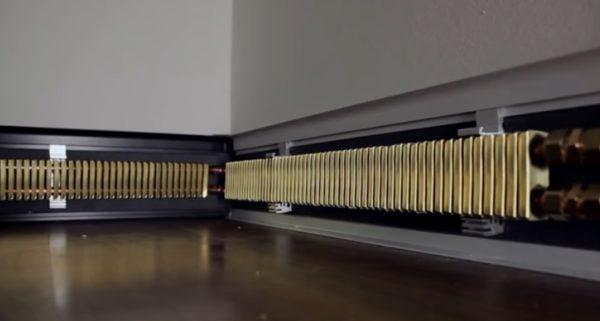 Модуль установлен в кронштейны