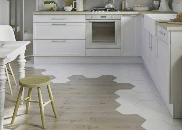 Оригинальное решение для кухонной зоны