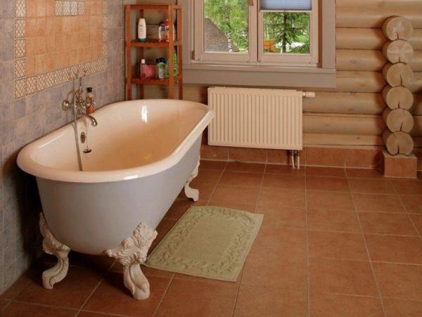 Плитка — лучший вариант для пола в ванной