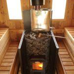 Теплый пол в бане своими руками водяной от печки