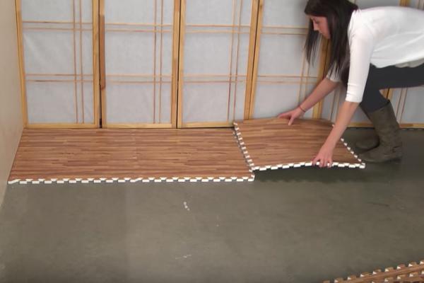 Утепленный линолеум пазл – отличная вещь для вашей квартиры