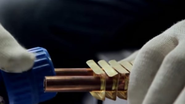 Зачистка краев труб