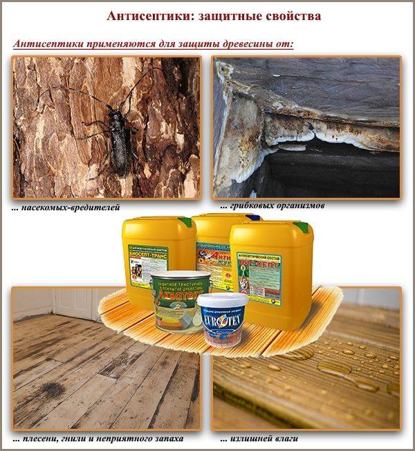 Защитные пропитки для деревянного пола